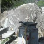 sezionamento roccia milano